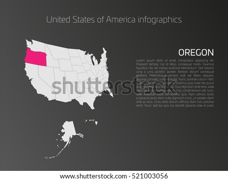 Oregon Map Stock Images RoyaltyFree Images Vectors Shutterstock - Oregon map us