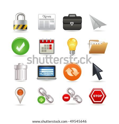 Universal web icons - stock vector
