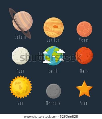 Universe Planets Space Concept