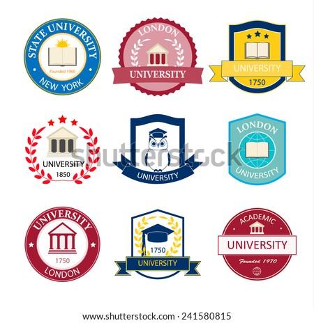 Download school logo vector design free vector download