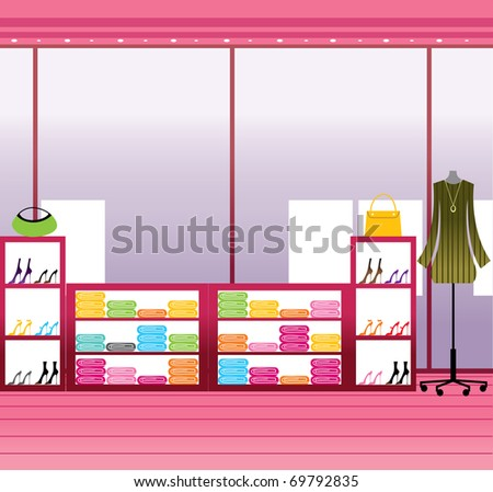 urban background - stock vector