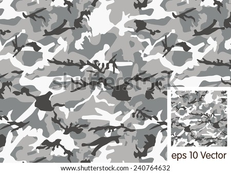 Urban camouflage pattern - stock vector