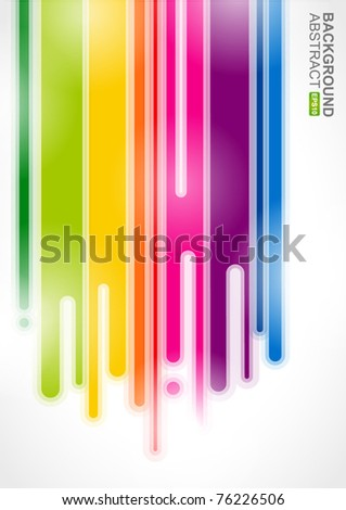 Urban designed background with stylized abstraction. Vector illustration - stock vector