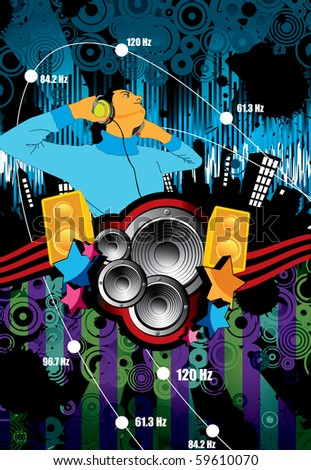 Urban music background