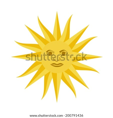 Uruguay design over white background, vector illustration - stock vector