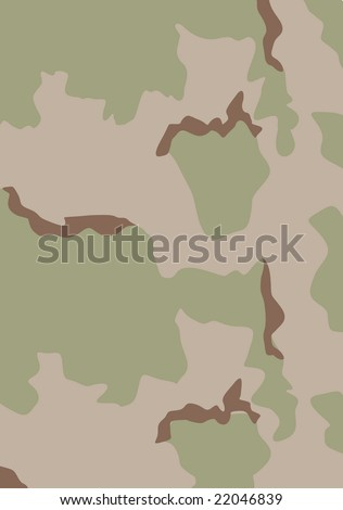 US Army Desert Camouflage Pattern - Vector. See more military pictures in my gallery