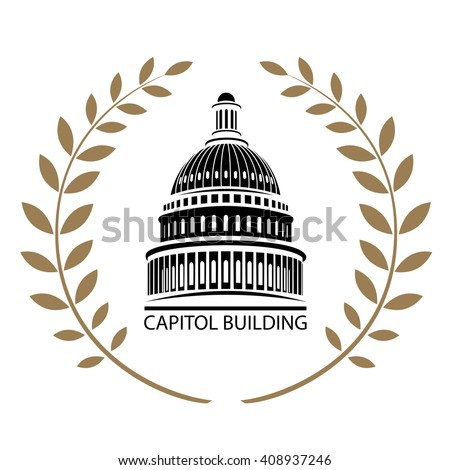 US Capitol Building - stock vector