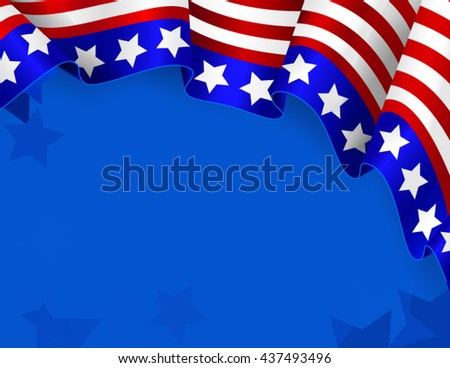 US patriotic background