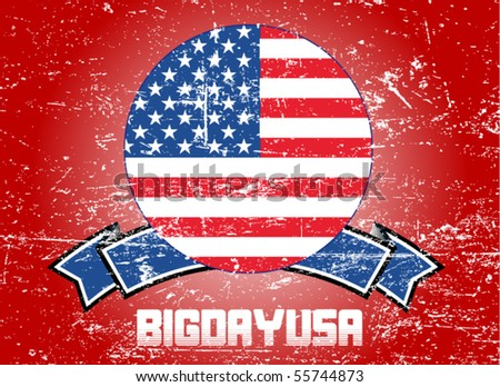 usa background - vector illustration - stock vector
