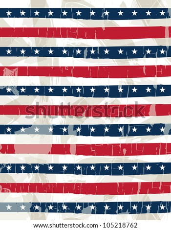 usa background , vector illustration EPS10. Contains transparent objects - stock vector
