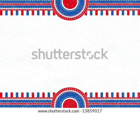 usa  background with texture, vector illustration - stock vector