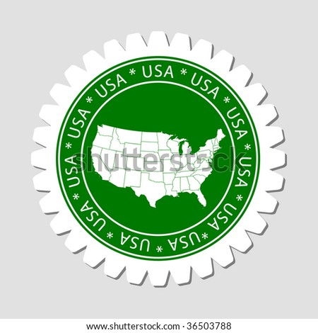 United States Polygonal Mesh Map Stock Vector Shutterstock - Large image map of us vector labels