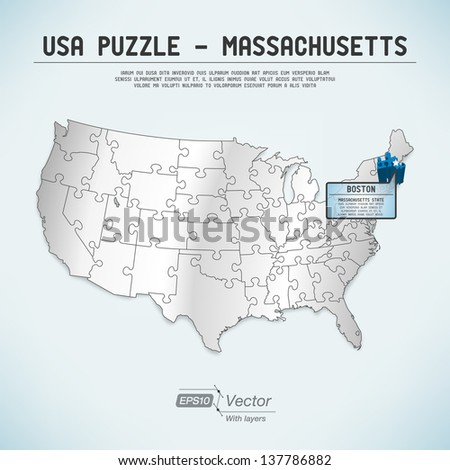 Boston Map Stock Images RoyaltyFree Images Vectors Shutterstock - Boston in usa map
