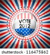 USA vote symbol eps10 - stock photo