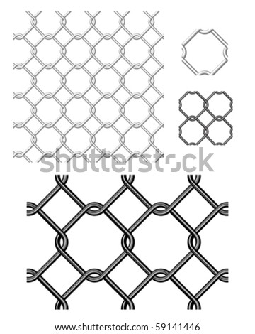 Use as backgrounds for Photoshop or other gunge style vector illustrations.  Patterns are repeat. - stock vector