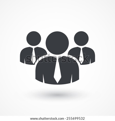 User group network icon. Team - stock vector
