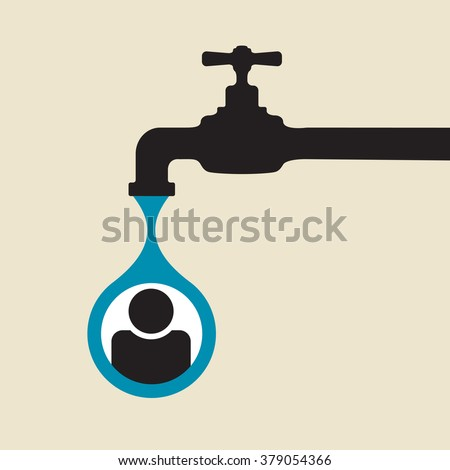 user personal data leakage: dripping tap
