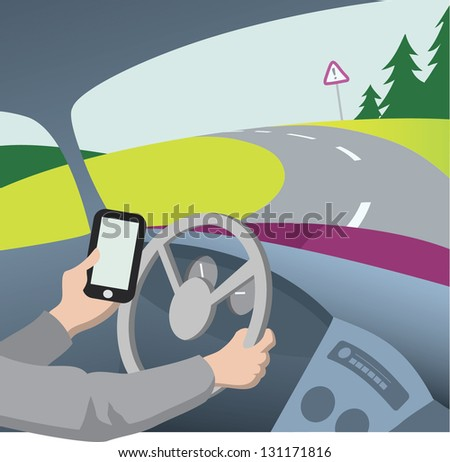 danger of cell phones while driving essay