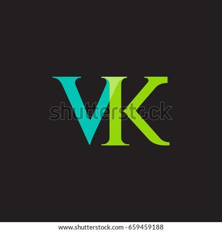 V k joint logo design vector stock vector 659459188 shutterstock v k joint logo design vector template toneelgroepblik Gallery