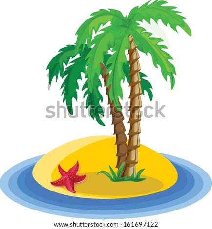 Vacation vector background - stock vector