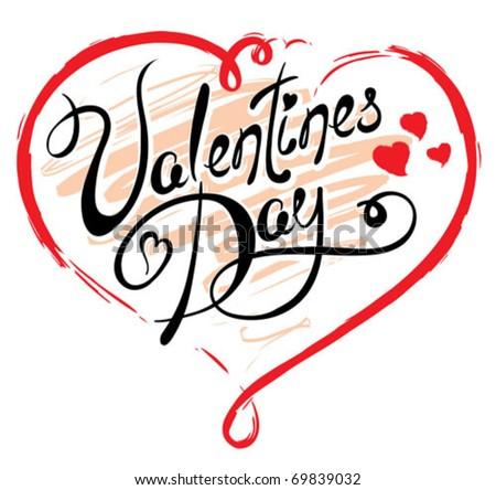 Valentine day - stock vector