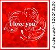 Valentine day love beautiful. - stock vector