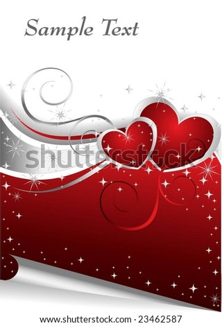 Valentine Days illustration - stock vector