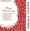 valentine heart - stock vector