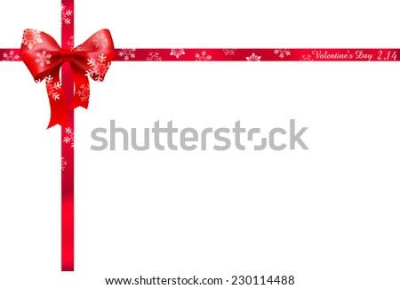 valentine ribbon background - Valentine Ribbon