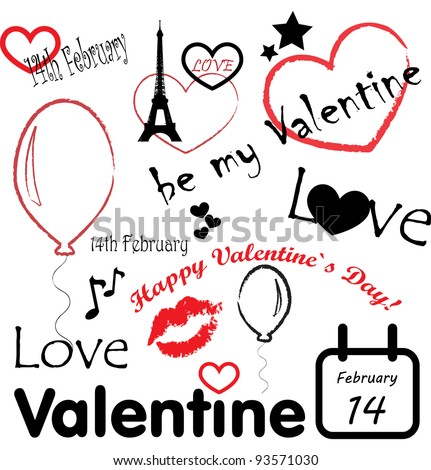 Valentine's day - stock vector