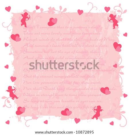 Valentine's Day Background - stock vector
