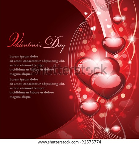Valentine's Design - EPS 10 - stock vector