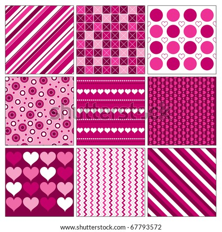 Valentines Background. Eps10 Format. - stock vector