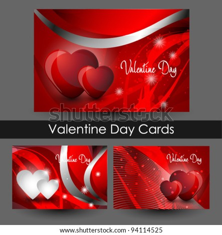 Valentines business card design stock photo photo vector valentines business card design colourmoves