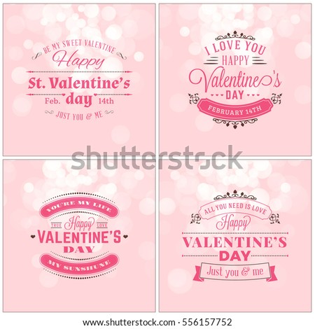 St patricks day vintage holiday badge stock vector for Valentines day card design
