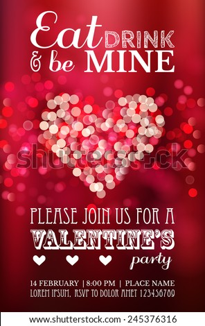 valentine party stock images royalty free images vectors shutterstock. Black Bedroom Furniture Sets. Home Design Ideas