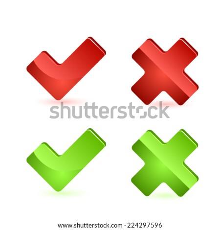 Validation icon. Vector - stock vector