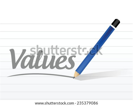 values message sign illustration design over a white background - stock vector