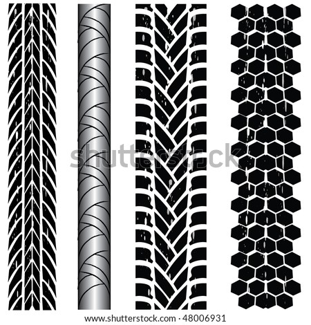 various automobile tyres