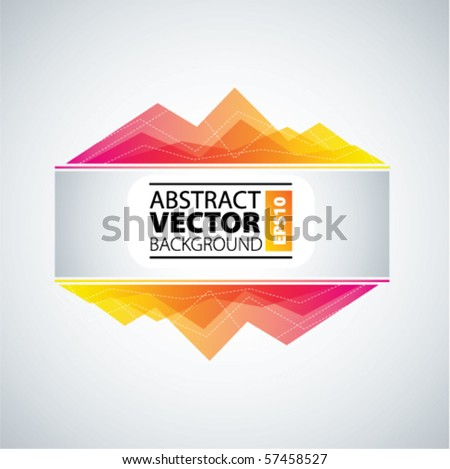 vector abstract - stock vector