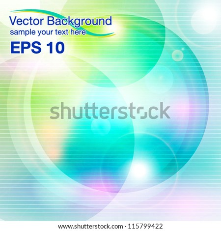 vector abstract background - stock vector