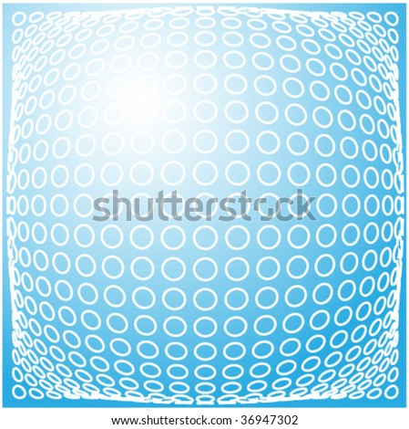 vector abstract background. Blue set. Other abstract images you can see in my portfolio. - stock vector