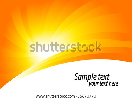 Vector abstract background; clip-art  - stock vector