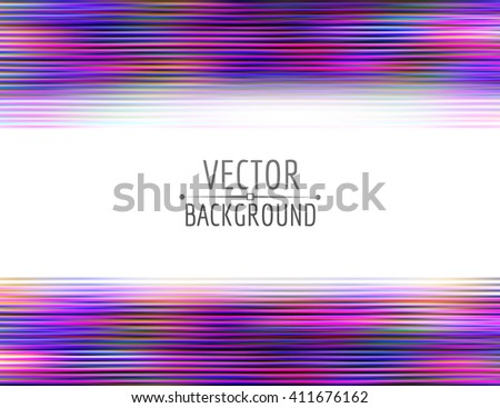 Vector abstract background. Colorful bright abstract lines. - stock vector