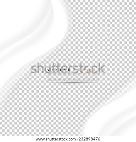 Vector abstract background design. Brochure design templates collection and waving - stock vector