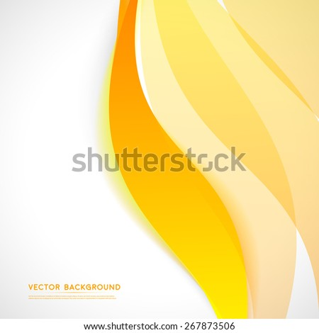 Vector abstract background design wavy.  Brochure design templates collection  - stock vector