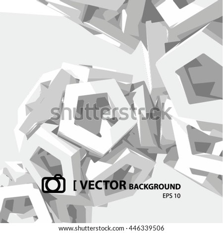 VECTOR ABSTRACT BACKGROUND, grey color