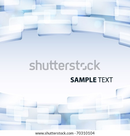 Vector abstract background greyish blue color. - stock vector