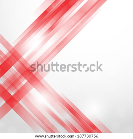 Vector abstract background. Isolated wavy lines on white background. - stock vector