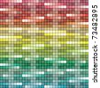 VECTOR - Abstract Background - Square - Huge Number of Colors used in attractive gradual method - stock vector